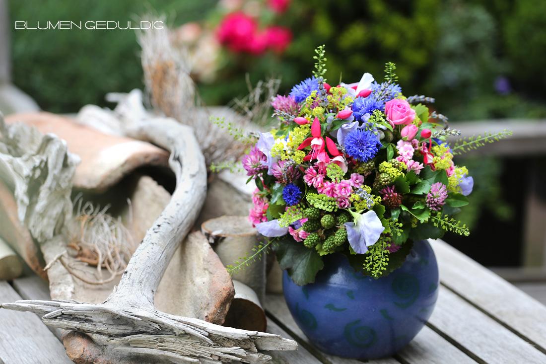 Blumen Geduldig Strauss Sommer Kohlscheid Aachen